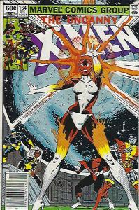 UNCANNY X MEN #164 FIRST BINARY FINE $10.00