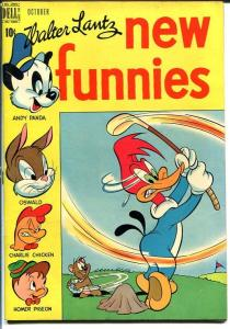NEW FUNNIES #152-WOODY WOODPECKER-GOLF COVER VF