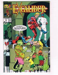 Excalibur #9 VF Marvel Comics Comic Book X-Men June 1989 DE23