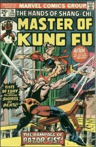 Marvel MASTER OF KUNG FU #29 FN