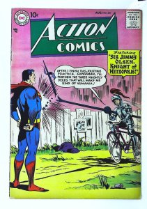Action Comics (1938 series) #231, Fine- (Actual scan)