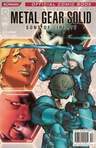 Metal Gear Solid: Sons of Liberty #1A VF/NM; IDW | save on shipping - details in