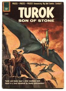 Turok Son Of Stone #24 comic book 1961-Dell-pre-historic Indians FN