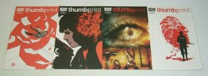 Joe Hill's Thumbprint #1-3 VF/NM complete series + variant - idw comics set 2
