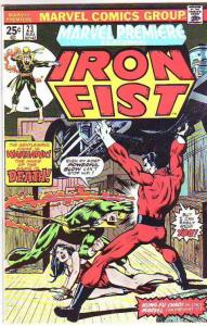 Marvel Premier #23 (Jan-75) VF+ High-Grade Iron Fist