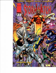 Lot Of 2 Image Comic Stormwatch #9 and Disciples #1 ON3