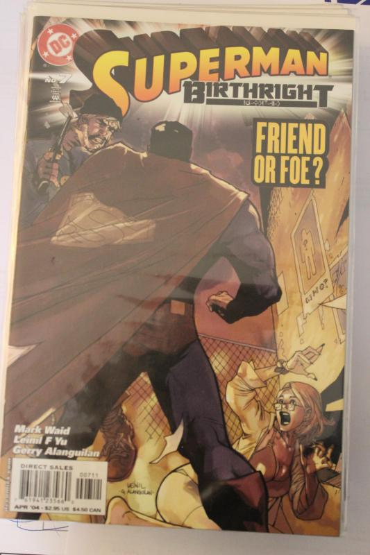 Superman Birthright 7 9-4-nm