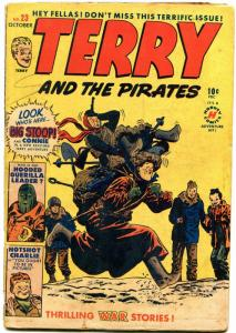 Terry and the Pirates #23 1950- Milton Caniff- Harvey Golden Age
