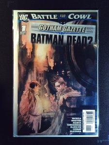 Gotham Gazette: Batman Dead? #1 (2009)