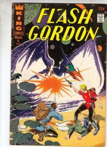 Flash Gordon #4 (Mar-67) FN/VF+ High-Grade Flash Gordon