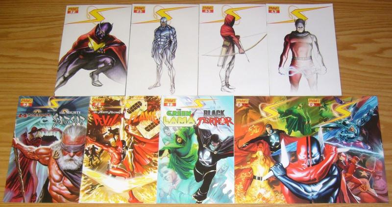 Project Superpowers #0 & 1-7 VF/NM complete series - white variant set 2 3 4 5 6