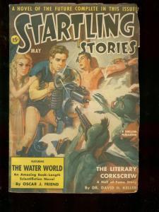 STARTLING STORIES MAY 1941 JULIUS SCHWARTZ BELARSKI CVR VG