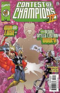 Contest of Champions II #3 VF; Marvel | save on shipping - details inside