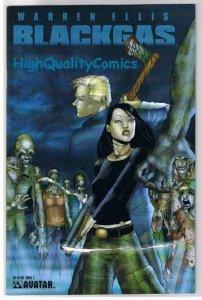 BLACK GAS #2, NM, Warren Ellis, Zombies, Undead, 2006, more BG in store