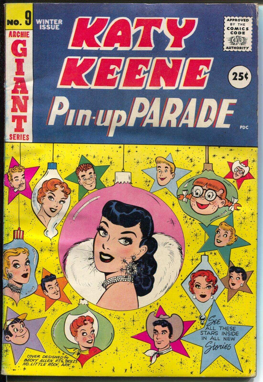 Katy Keene Pin Up Parade 20 120520 Bill Woggon fashions pin ups paper  dolls VG    Comic Books   Silver Age, Archie Comics, Katy Keene