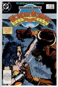 WONDER WOMAN #13, VF/NM, Perez, Gods, Minotaur, Amazon, 1987, more WW in store