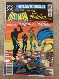 DC The Brave And The Bold 183 Starring Batman And The Riddler