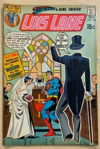 SUPERMAN'S GIRLFRIEND LOIS LANE #108 (DC,2/1971)  VG The Specter Suitor!