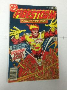 Firestorm 1 5.0 Vg/fn Very Good / Fine