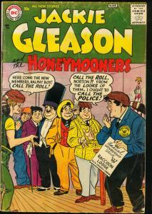 JACKIE GLEASON & THE HONEYMOONERS #5-D.C. 1957 G/VG