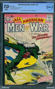 All-American Men of War #44 (DC, 1957) CBCS 7.0
