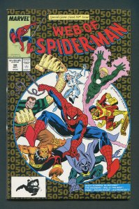 Web of Spiderman #29 / 9.2 NM-   May 1989