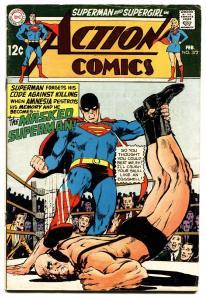 ACTION COMICS #372 comic book-SUPERMAN-WRESTLING COVER