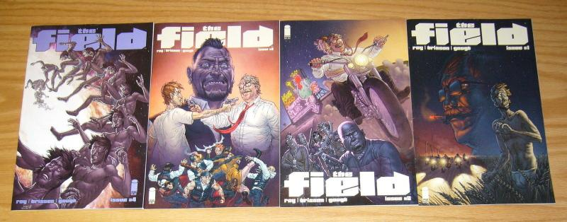 the Field #1-4 VF/NM complete series - ed brisson - simon roy - image comics set