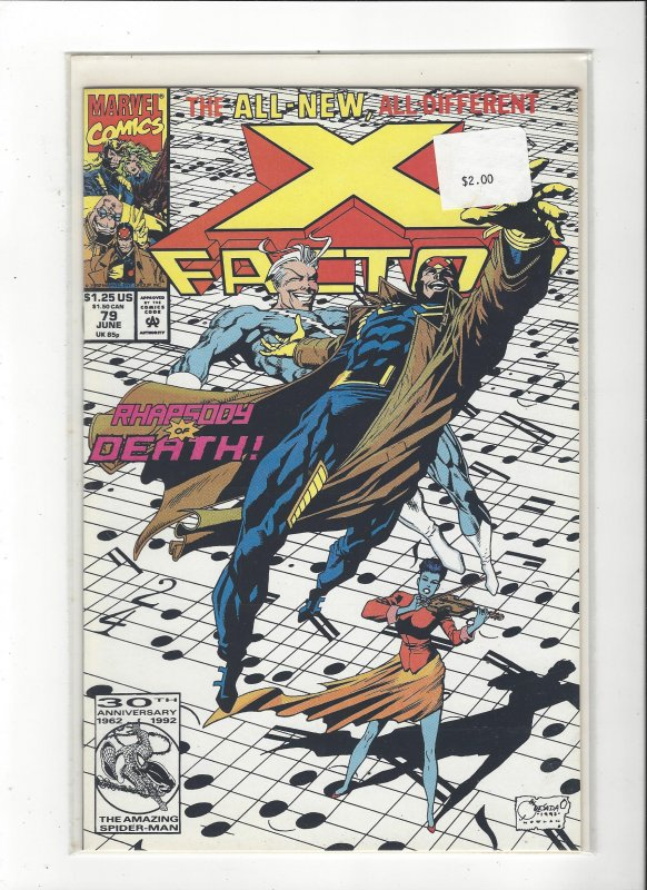 X-Factor #79 All New, All Different Peter David NM