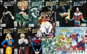 JUSTICE SOCIETY OF AMERICA (2007) 1A-13A  BAG & BOARDED