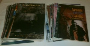 Sandman #15,19+ Mystery Theater #1-4+ Gaiman Dreaming Death comic book lot of 36