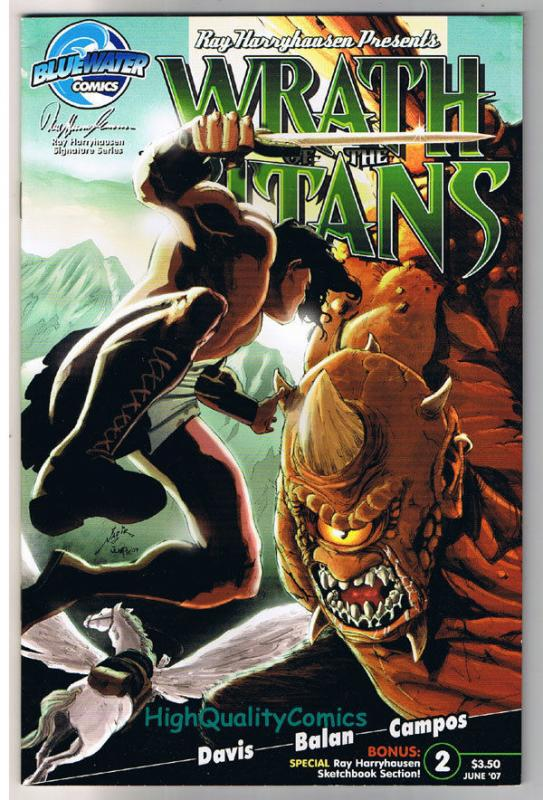 WRATH of the TITANS #2, VF, Clash, Ray Harryhausen, 2007, more indies in store