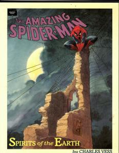 The Amazing Spider-Man: Spirits of the Earth HARDCOVER Marvel Comic Book J342