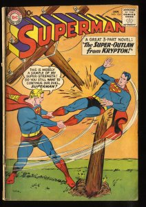 Superman #134 GD/VG 3.0