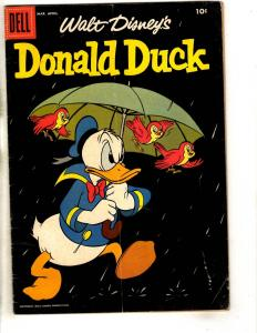 Donald Duck # 58 FN- 1958 Dell Silver Age Comic Book Walt Disney BE1