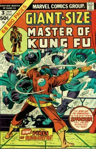 Giant-Size Masters of Kung Fu #3 - FINE/VERY FINE - Venom