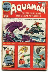 Super DC Giant #26 Origin of Aquaman DC bronze age comic book 1971