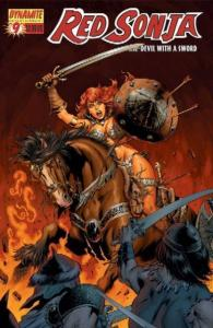 Red Sonja She-Devil #9 (Dynamite Entertainment) - Mike Perkins Cover