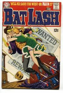 BAT LASH #1 1st  issue-comic book-1968-DC WESTERN FN+