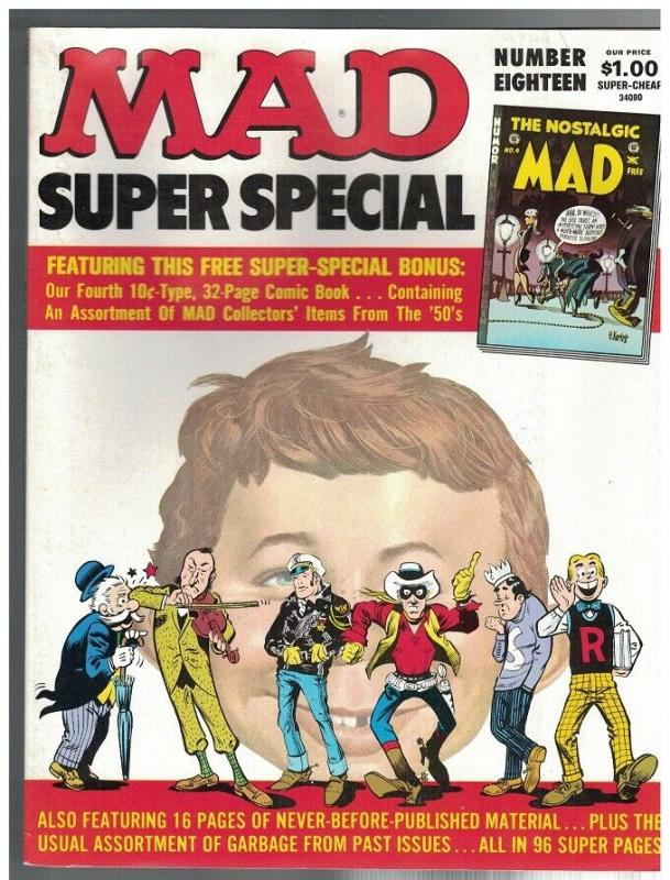 MAD SPECIAL (1970-    ) 18 GD