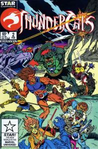 Thundercats #2 VF/NM; Marvel Star | save on shipping - details inside