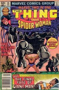 Marvel Two-In-One (1974 series) #85, VF (Stock photo)