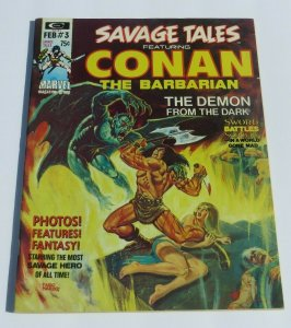 Savage Tales #3 FN+ 1974 Conan the Barbarian Magazine Barry Windsor Smith Art