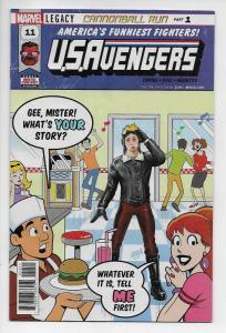 US Avengers #11 (Marvel, 2017) NM