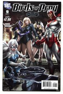 Birds of Prey #9 2011 Artgerm cover art DC NM-
