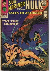 Tales to Astonish #80 ORIGINAL Vintage 1966 Marvel Comics Sub Mariner