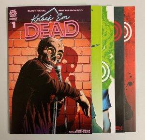 Knock Em Dead #1-5 Set (Aftershock 2020) 1 2 3 4 5 Eliot Rahal (9.0+)