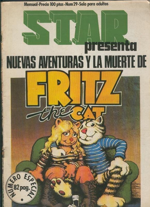 Star numero 13: Fritz the Cat: El Gato Fritz