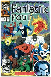FANTASTIC FOUR #349, Hulk , Wolvine, Spider-man, NM+, lots more Marvel in store