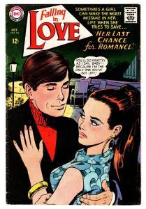 FALLING IN LOVE #94 comic book 1967-DC ROMANCE COMICS